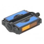 Pedale RPC PL color MA negru/albastru