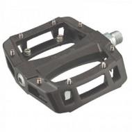 Pedale WELLGO LU-A52 rulmenţi aluminiu negre