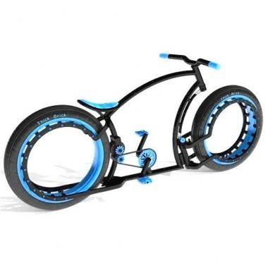 Personalizează-ți bicicleta. Alege culoarea albastră!