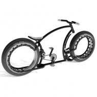 Personalizează-ți bicicleta. Alege culoarea argintie!
