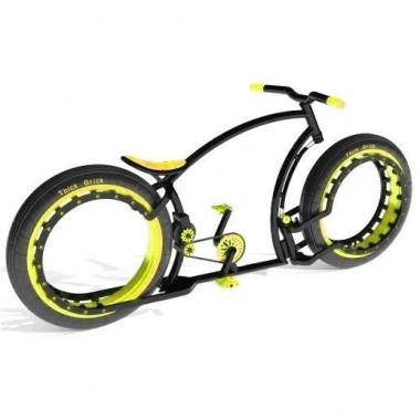 Personalizează-ți bicicleta. Alege culoarea galbenă!