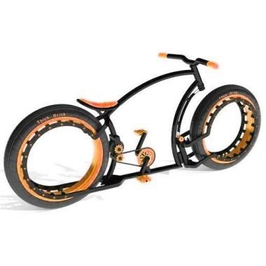 Personalizează-ți bicicleta. Alege culoarea maro!
