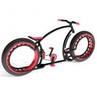 Personalizează-ți bicicleta. Alege culoarea roșie!