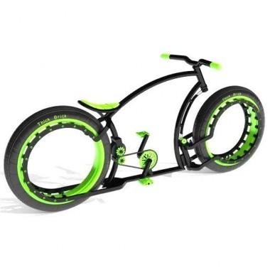Personalizează-ți bicicleta. Alege culoarea verde!