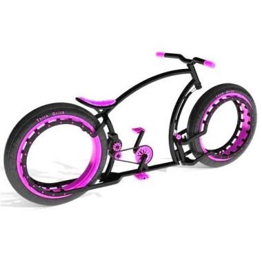 Personalizează-ți bicicleta. Alege culoarea mov!