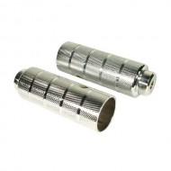 Peguri metal 10x50x110mm (filet Ø10mm) argintiu