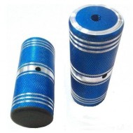Peguri aluminiu 10x40x110mm (filet Ø10mm) bleu