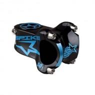 Pipă ghidon BMX SPANK Bearclaw Spike negru/albastru