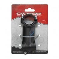 Pipă ghidon CROSSER D507A 1.1/8-31.8/60 mm - 7º negru/albastru
