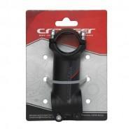 Pipă ghidon CROSSER D507A 1.1/8-31.8/70 mm - 7º negru/roşu