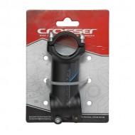 Pipă ghidon CROSSER D507A 1.1/8-31.8/80 mm - 7º negru/albastru