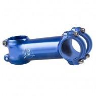 Pipă ghidon ZOOM 3D 1.1/8-31.8/90 mm - 7º albastru