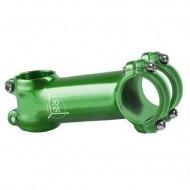 Pipă ghidon M-WAVE 3D 1.1/8-31.8/90 mm - 7º verde