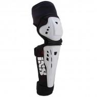 Protecţii genunchi şi tibie IXS Assault Series S alb