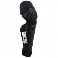 Protecţii genunchi şi tibie IXS Assault Series L negru