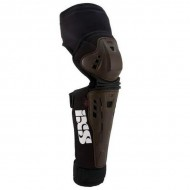 Protecţii genunchi şi tibie IXS Assault Series XS maro
