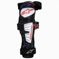 Protecţii genunchi ALPINESTARS Moab negru/alb - mărimea L-XL