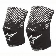 Protecţii genunchi ALPINESTARS Knee Sock alb/negru - mărimea XS-S