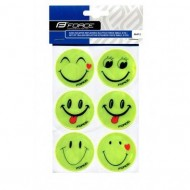 Sticker reflectorizant FORCE SMILE