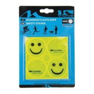 Sticker reflectorizant M-WAVE Smiley