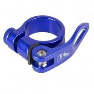 Colier tijă șa M-WAVE albastru QR
