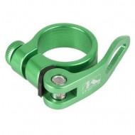 Colier tijă șa M-WAVE verde QR 31.8 mm