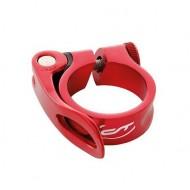 Colier tijă șa CONTEC cu prindere rapidă 31.8 mm roşu