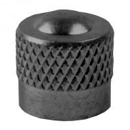 Căpăcel ventil tip auto M-WAVE aluminiu negru
